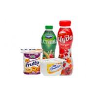 Йогурты и творожки