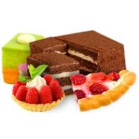 Торты и пирожные Вес (в кг) 0,21