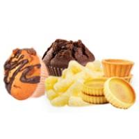 Кексы, тарталетки, кукурузные палочки