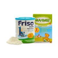 Молочные смеси сухие