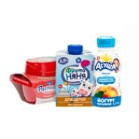 Продукты молочные для детей и кормящих мам