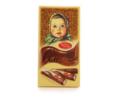 Шоколад ТМ Красный октябрь, Аленка молочный порционный 100 г