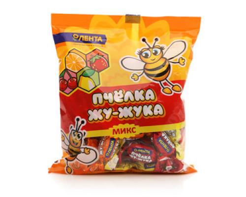 Конфеты 'Пчёлка Жу-Жука Микс' ТМ Лента