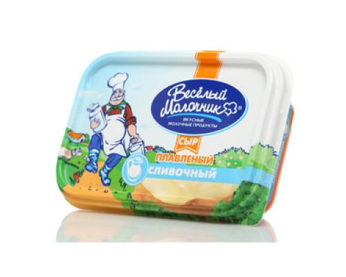 Сыр плавленый пастообразный сливочный  ТМ Веселый Молочник