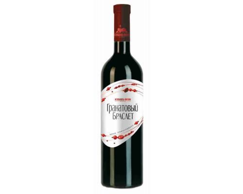 Вино 'Гранатовый Браслет' столовое кр. п/сл. 0.7 л. 10-12%'