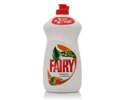 Средство для мытья посуды Апельсин и Лимонник ТМ Fairy (Фэйри)