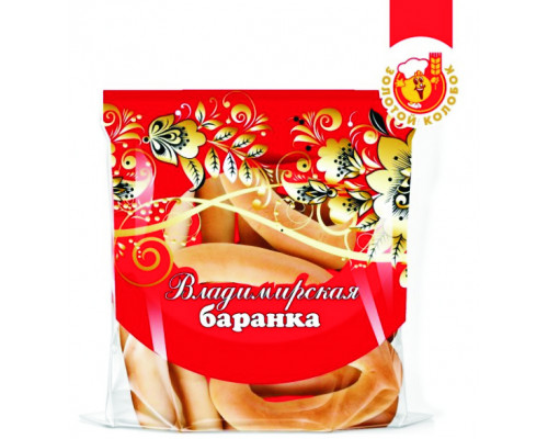 Баранка ТМ Золотой колобок, с ванилью, в/с, 350 г