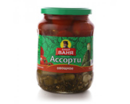Ассорти овощное маринованное ТМ Дядя Ваня