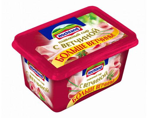 Сыр плавленый Hochland с ветчиной 400г пл/в
