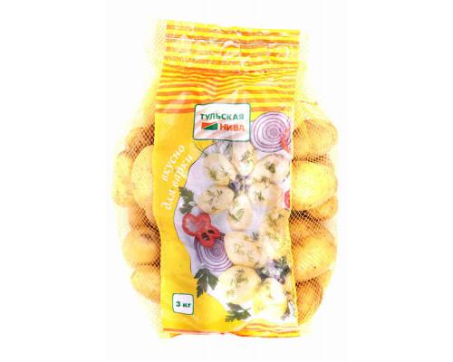 Картофель д/варки 3кг упак
