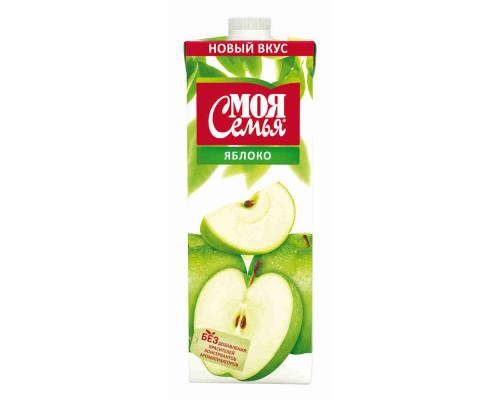 Нектар Моя Семья яблоко 1л т/п