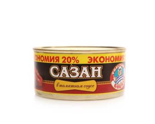 Сазан в томатном соусе ТМ Толстый боцман