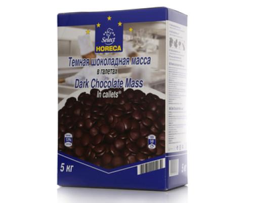 Темная шоколадная масса в галетах ТМ Select  Horeca (Селект Хорека)