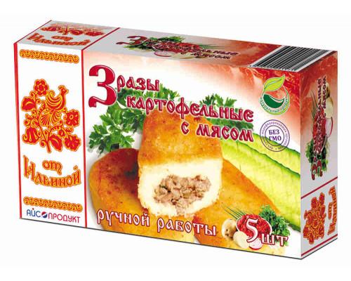 Зразы Картофельные с мясом 500г Продукты от Ильиной
