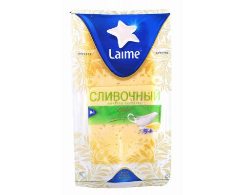 Сыр Laime Сливочный 50% 150г нарезка