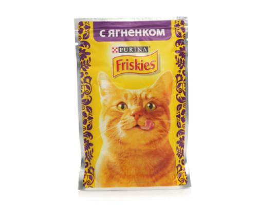 Корм для кошек Friskies с ягненком ТМ Friskies (Фрискас)