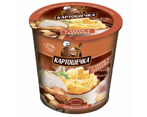 Пюре картофельное Картошечка лук/гренки 41г т/ст