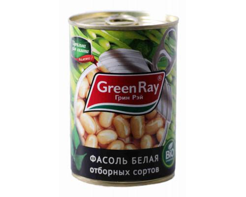 Фасоль белая Green Ray натуральная 425г