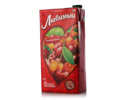 Напиток Вишневая черешня ТМ Любимый, 1,93 л