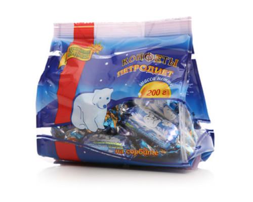 Конфеты шоколадные на сорбите пралиновые ТМ Петродиет
