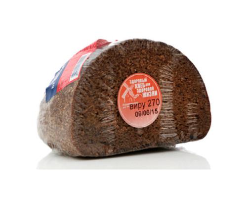 Хлеб Виру бездрожжевой заварной ТМ Хлебное местечко, ржано-пшеничный, 270 г