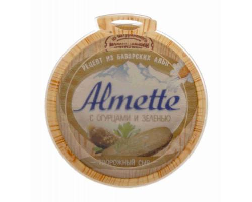 Сыр творожный Almette с огурцами и зеленью 150г