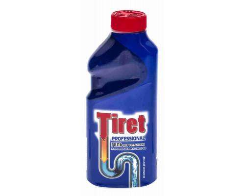 Гель д/удаления засоров Tiret Профессионал 500мл