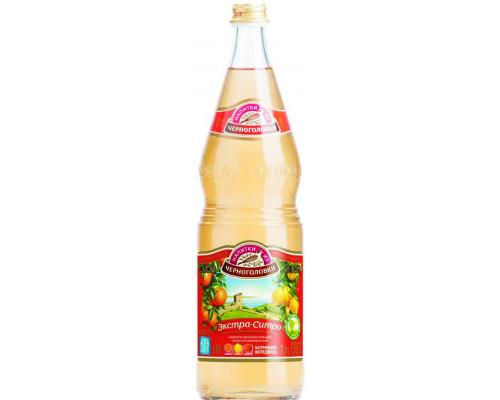Напиток Экстра-ситро ТМ Напитки из Черноголовки, сильногазированный, 1 л