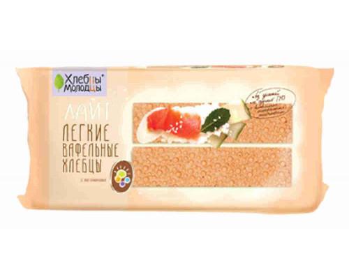 Хлебцы-Молодцы вафельные Лайт с витаминами 70г