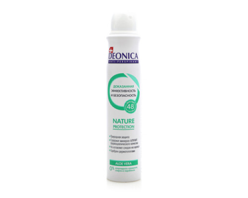 Антиперспирант Deonica Natura protection Aloe vera ТМ Deonica (Деоника)