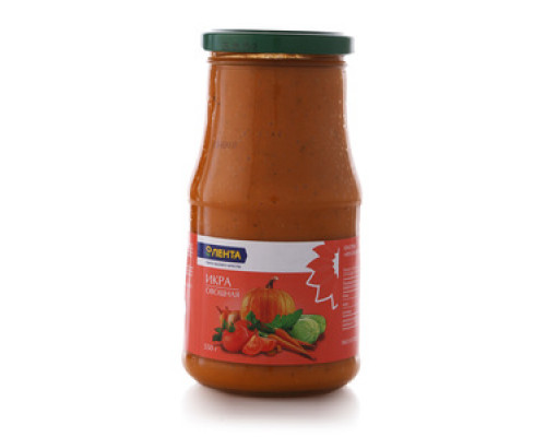 Икра овощная ТМ Лента, 550 г