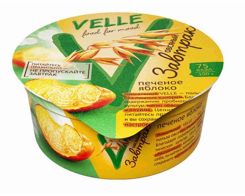 Продукт овсянный Velle Овсянный завтрак ферментированный печеное яблоко 175г