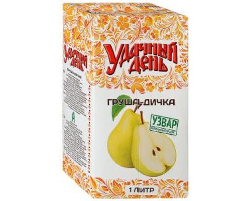 Напиток ТМ Удачный день Груша-дичка, 1 л