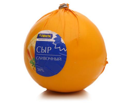 Сыр Сливочный 50% ТМ Лента