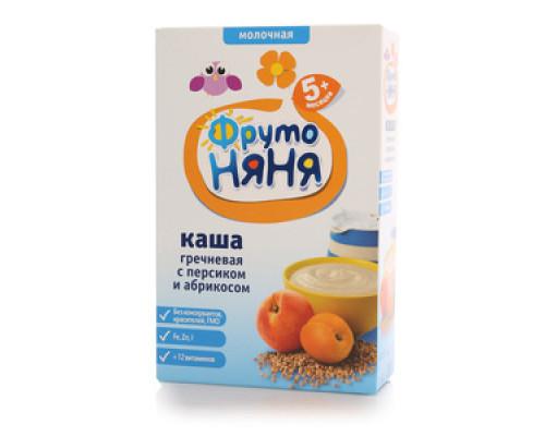 Каша гречневая с персиком и абрикосом ТМ ФрутоНяня