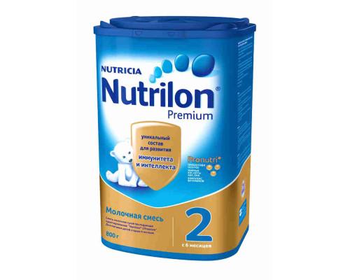 Смесь молочная Nutrilon 2 Premium с 6 мес 800г