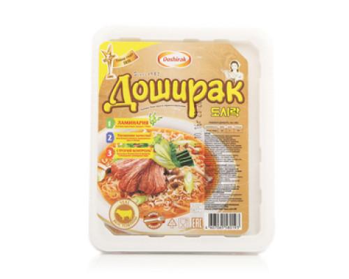 Лапша ТМ Doshirak (Доширак), со вкусом телятины 90 г
