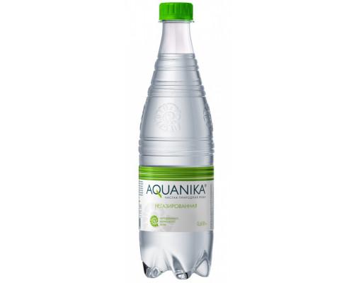 Вода минеральная ТМ Aquanika (Акваника), без газа, 618 мл