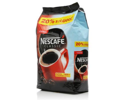 Кофе растворимый гранулированный ТМ Nescafe Classic (Нескафе Классик) 900г