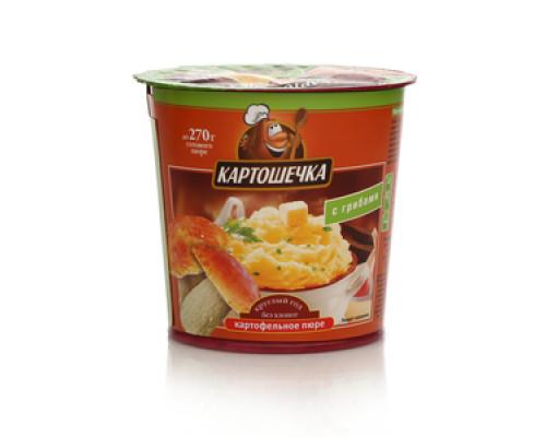 Пюре картофельное быстрого приготовления с грибами ТМ Картошечка