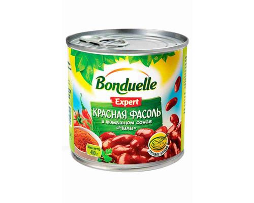Фасоль красная  в соусе Чили Бондюэль 430г ж/б