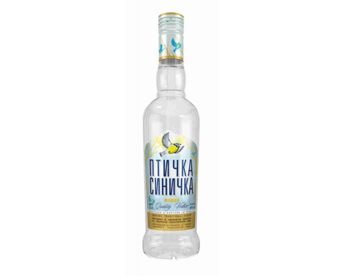Водка Птичка Синичка 40%, 0,5 л