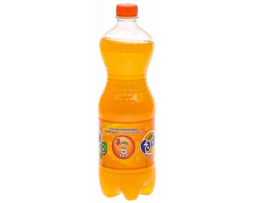 Напиток Fanta апельсин б/алк газ 1л пэт