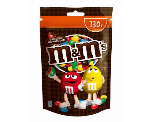 Драже Mars M&M`s с молочным шоколадом 130г