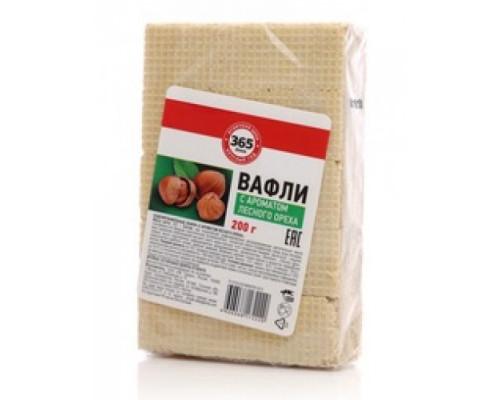 Вафли с ароматом лесного ореха ТМ 365 дней, 200 г