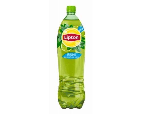 Напиток Lipton зеленый чай б/алк лайм/мята 1,5л пэт