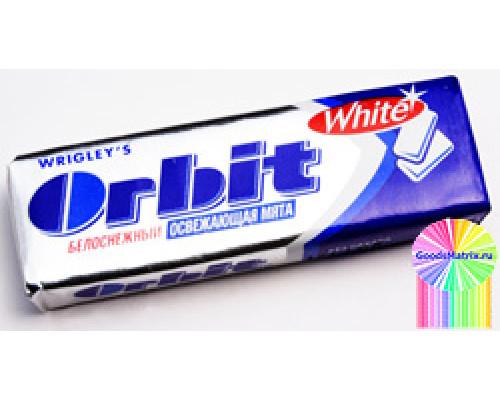 Жевательная резинка ТМ Orbit (Орбит) White Освежающая мята, 13,6 г