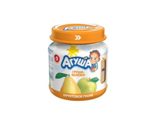 Пюре груша-яблоко ТМ Агуша