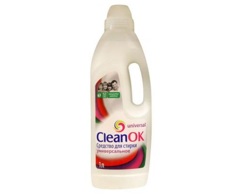Средство для стирки универсальное Clean OK, 1л