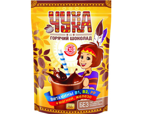Какао-напиток ТМ Чукка, 250 г